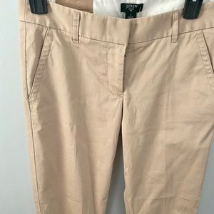 NWT J Crew stretch City Fit pants